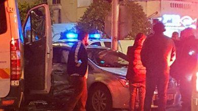 Photo of اصابتان بحادث طرق على المدخل الجنوبي لمدينة الطيبة