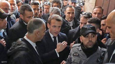 "Photo of مشادة ""قوية"" بين الرئيس الفرنسي والشرطة الإسرائيلية"