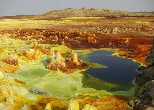 Photo of اقسى مكان على وجه الارض في صحراء داناكيل