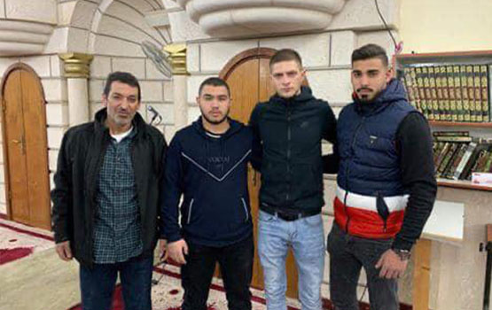Photo of اوكراني يعلن اسلامه في مدينة قلنسوة