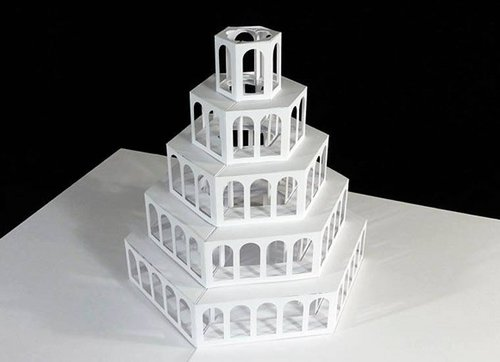 Photo of مدهش: فنان يصمم ارواق ثلاثية الابعاد