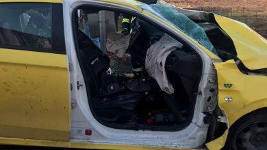 Photo of 7 اصابات بحادث طرق بين شاحنة اسرائيلية وسيارة اجرة