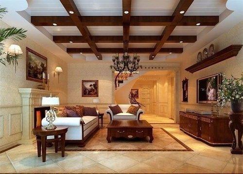 Photo of تداخل الجبس والخشب في منزلك لديكور رائع فعلاً!