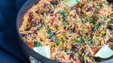 Photo of الأرز المكسيكي الحار