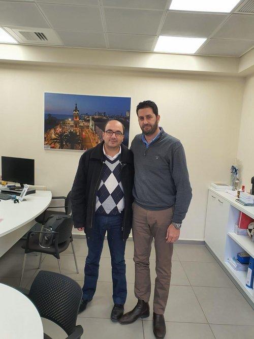 Photo of النائب سامي أبو شحادة يلتقي المدير العام الجديد للمكملة ليافا