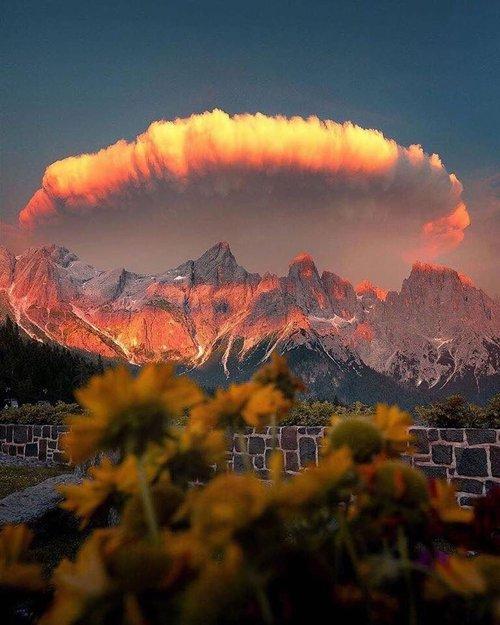 صورة جبال الدولوميت ايطاليا…