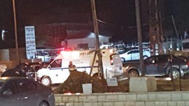 Photo of اصابتان بحادث طرق على شارع 444 بالطيبة