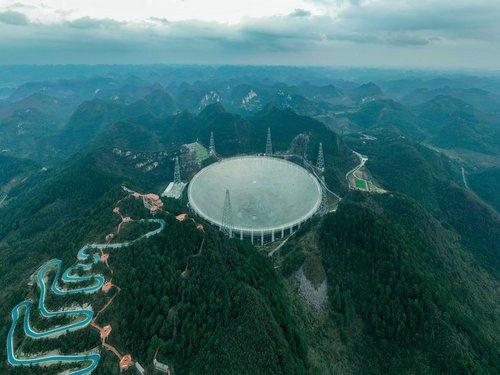 Photo of تلسكوب الصين العملاق يبدأ البحث عن حياة خارج الأرض