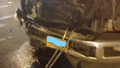 Photo of اصابة متوسطة بحادث طرق على المفرق الجنوبي بالطيبة