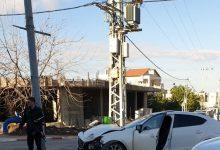 Photo of اصابتان طفيفتان بحادث طرق بالقرب من البريد الجنوبي