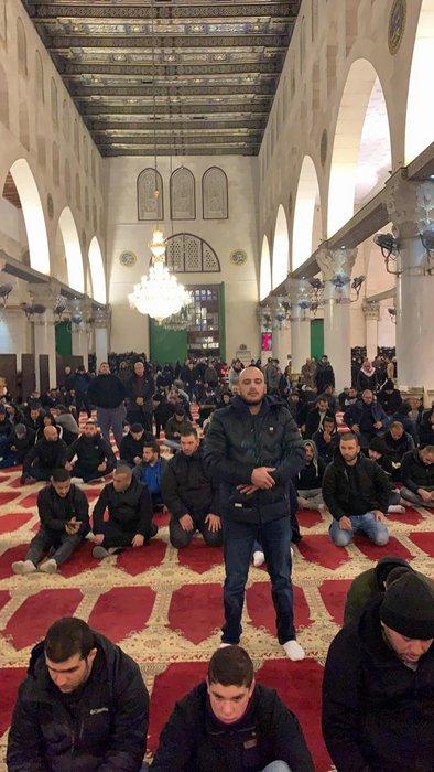 Photo of حملة الفجر العظيم في القدس تحت هتاف لن تركع أمة قائدها محمد