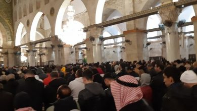 Photo of قوات الشرطة تقتحم باحات المسجد الاقصى