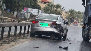 Photo of اصابتان بحادث طرق قرب الشارع الرئيسي في قلنسوة