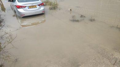 Photo of الطيرة – طواقم الانقاذ تعمل على تخليص سيارة من السيول