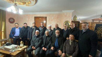 Photo of وفد من القائمة المشتركة والحركة الإسلامية في زيارة تضامنية مع الشيخ عكرمة صبري