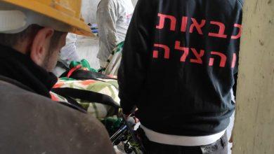 Photo of سقوط عامل بورشة بناء في مدينة تل ابيب