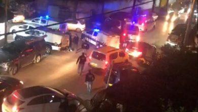 Photo of شجار عنيف في قلنسوة والشرطة تستعمل الغاز المسيل للدموع