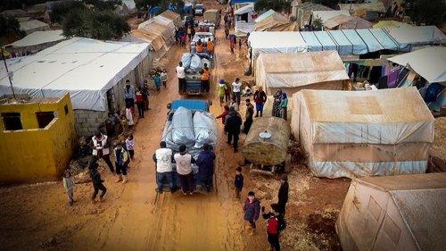 Photo of جمعية الإغاثة 48 تبني مخيمًا كامل العتاد للنازحين السوريين