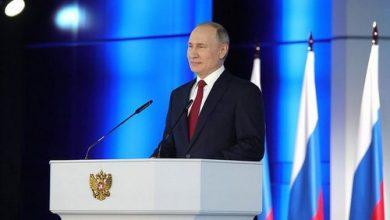 """Photo of بوتن يدعو لزيادة معدل الإنجاب بسبب وضع """"صعب جدا"""""""