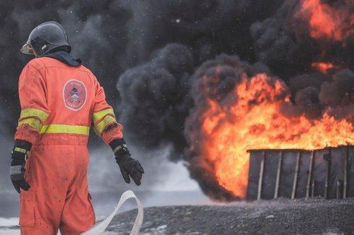 Photo of حريق كبير في مصنع ايزي يوغيف في بيسان