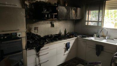 Photo of نسيان طنجرة طبخ على الغاز يتسبب باندلاع حريق بشقة في كريات يام