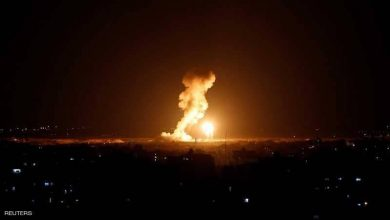 Photo of جرحى في غارات إسرائيلية على غزة وقذائف تطال جنوبي إسرائيل