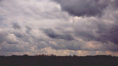 صورة حالة الطقس – سقوط أمطار, انخفاض ملموس على درجات الحرارة