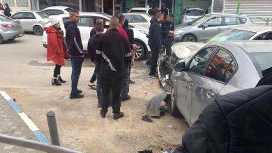 Photo of بالفيديو حادث طرق خطير في مدينة الطيرة وبلطف من الله لم ينتهي بكارثة