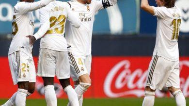 Photo of ريال يفترس أوساسونا ويحقق فوزه الخامس على التوالي في الدوري الإسباني
