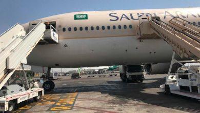 Photo of ماذا تفعل الطائرة السعودية في مطار بن غوريون ؟؟