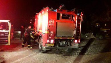 Photo of اندلاع حريق في سياره بالقرب من بيت جن والبقيعه