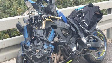 Photo of اصابتان متوسطتان بحادث دراجة نارية على مفترق ايال