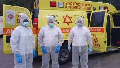 Photo of هكذا تستعد الطواقم الطبية استقبال الاسرائيليين من سفينة الكورونا