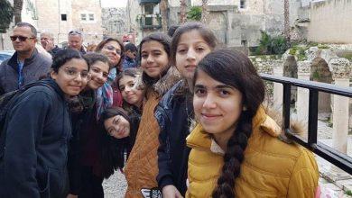 Photo of طلاب اعدادية الاخوة الطيبة في اكناف بيت المقدس