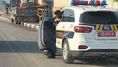 Photo of حملة لشرطة السير في مدينة الطيبة ، تقيدوا بالقوانين