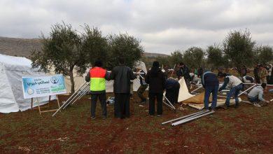 Photo of مشروع نسائي خيري بالداخل الفلسطيني تبني مخيم جديدا في الشمال السوري