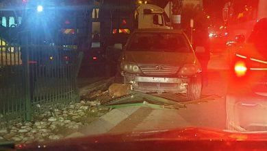 Photo of حادث طرق ذاتي على المدخل الرئيسي لقلنسوة