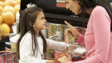 صورة الأم العصبية تشكل خطرًا على أطفالها
