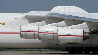 Photo of نموذج مطور من أضخم طائرة في العالم يقوم بأول تحليق له