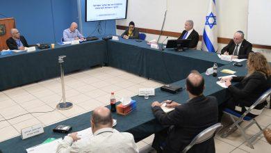 Photo of رئيس الوزراء نتنياهو يجري مباحثات مغ خير الخبراء حول دراسة طرق إضافية للتعامل مع فيروس كورونا