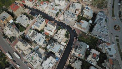 Photo of بلدية الطيبة: تعبيد الشوارع في منطقة فرديسيا شمالاً
