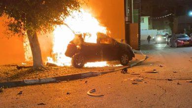 Photo of انفجار سيارة في كفر برا