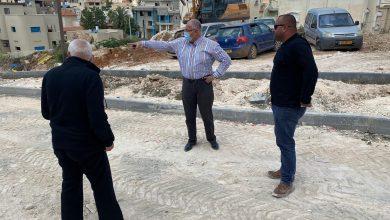 Photo of بلدية الطيبة: أعمال التطوير في حي الشل متواصلة