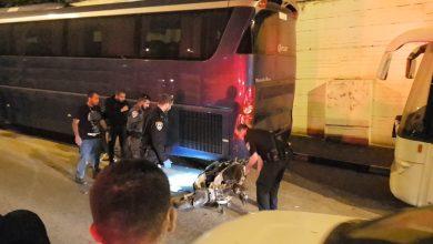 Photo of الطيبة : خلال مطاردة بوليسية اصابة سائق دراجة نارية باصابة خطيرة