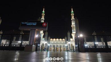 Photo of بالصور: افتتاح المسجد النبوي بعد إغلاق طويل