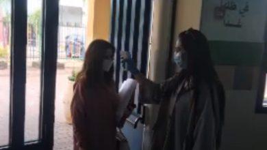 Photo of بالفيديو – عودة طلاب عتيد الثانوية في الطيبة لمقاعد الدراسة