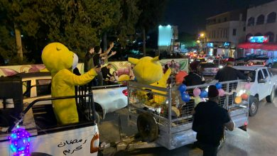 Photo of فرقة مسحراتي تجوب شوارع الطيبة بأجواء رمضانية مميزة