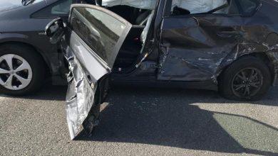 Photo of اصابة بحادث طرق على شارع 444 بالقرب من الطيرة