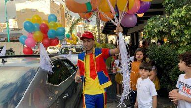 Photo of عمو صابر يدخل السرور لقلوب الاطفال والاهالي بيوم العيد