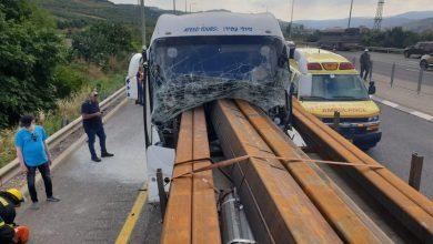 Photo of مصرع سائق بحادث طرق على شارع 65 بالقرب من عرعرة